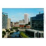Providence RI Skyline Card