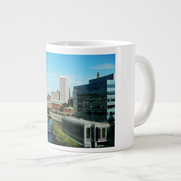 Providence RI Skyline Giant Coffee Mug