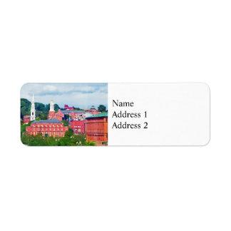 Providence RI Skyline II Return Address Label
