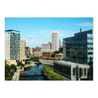 Providence RI Skyline Personalized Invitations