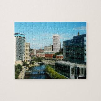 Providence RI Skyline Jigsaw Puzzle