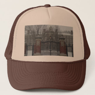 Providence, RI Winter Scene Trucker Hat