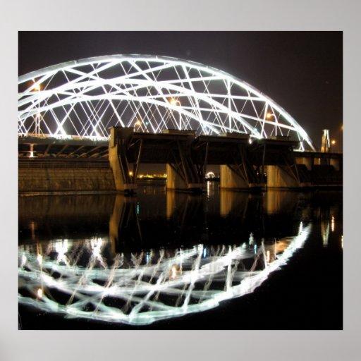 Providence River Bridge Print