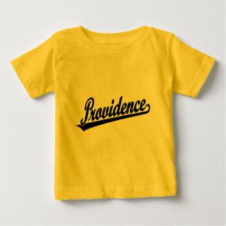 Providence script logo in black baby T-Shirt