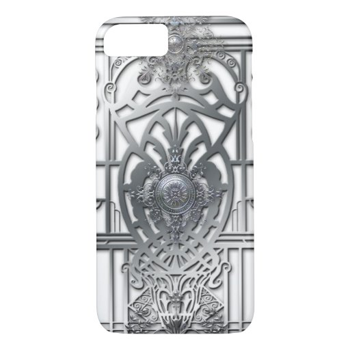 PROVIDENCE: SILVER MEDALLIONS iPhone 8/7 CASE
