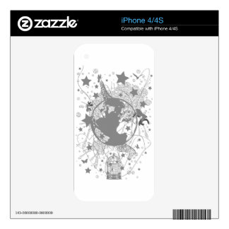 Providence Skin For iPhone 4
