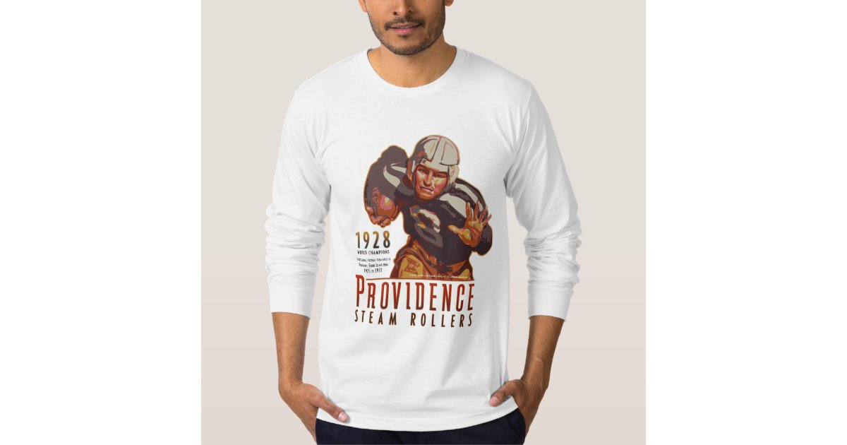 Providence steam rollers rhode island tee shirt zazzle for T shirt printing providence ri