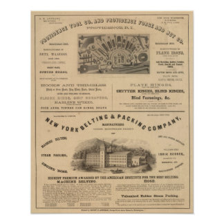 Providence Tool and Forge and Nut Company Poster