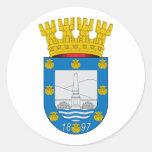 Providencia , Chile Classic Round Sticker
