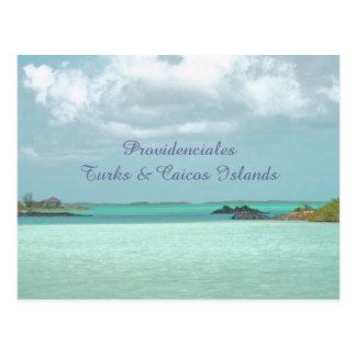 PROVIDENCIALES / TURKS&CAICOS ISLANDS POSTCARD