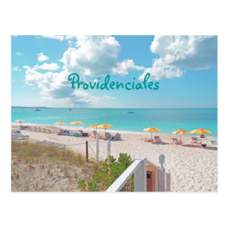 """PROVIDENCIALES /TURKS&CAICOS ISLANDS"" POSTCARD"