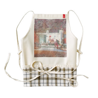 Providing light to the surroundings zazzle HEART apron
