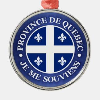 Province de Quebec Metal Ornament