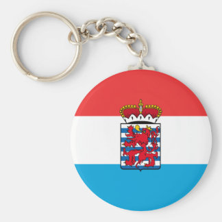 Province Of Luxembourg, Belgium flag Keychain