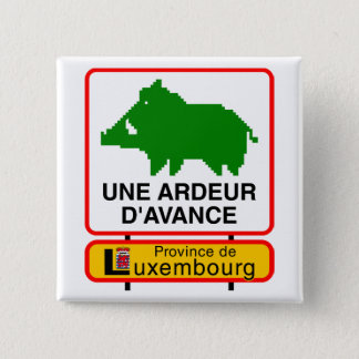 - Province of Luxembourg swipes in a HEAT IN ADVAN Button