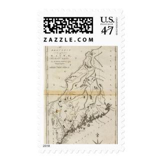Province of Maine 2 Postage Stamp