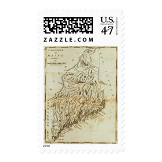 Province of Maine Postage Stamp