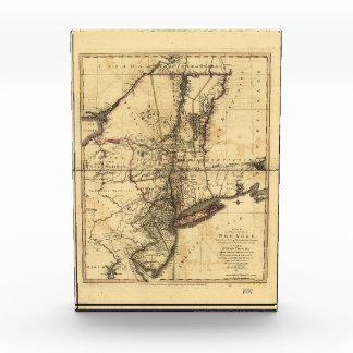 Province of New York & New Jersey Map (1776) Award