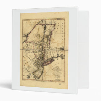 Province of New York & New Jersey Map (1776) Binder