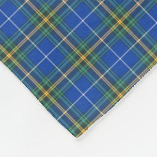 Province of Nova Scotia Canada Tartan Fleece Blanket