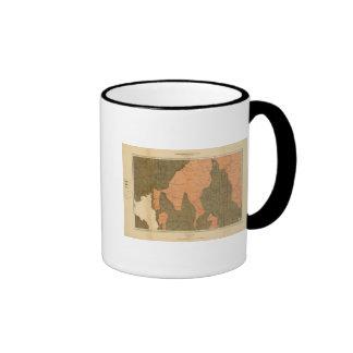 Province of Nova Scotia Island of Cape Breton 13 Coffee Mugs