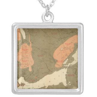 Province of Nova Scotia Island of Cape Breton 2 Personalized Necklace
