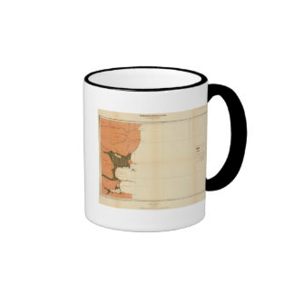 Province of Nova Scotia Island of Cape Breton 4 Coffee Mugs