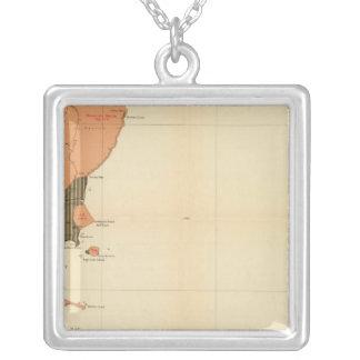 Province of Nova Scotia Island of Cape Breton 4 Personalized Necklace