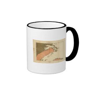 Province of Nova Scotia Island of Cape Breton 8 Coffee Mug