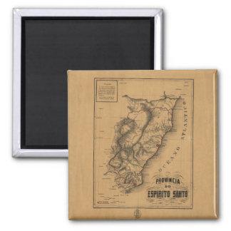 Province of the Espirito Santo (1873) 2 Inch Square Magnet