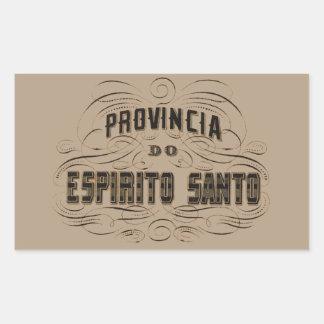 Province of the Espirito Santo Rectangular Sticker