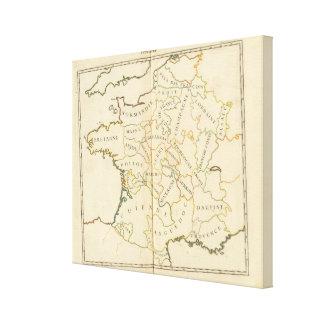 Provinces, France Canvas Print
