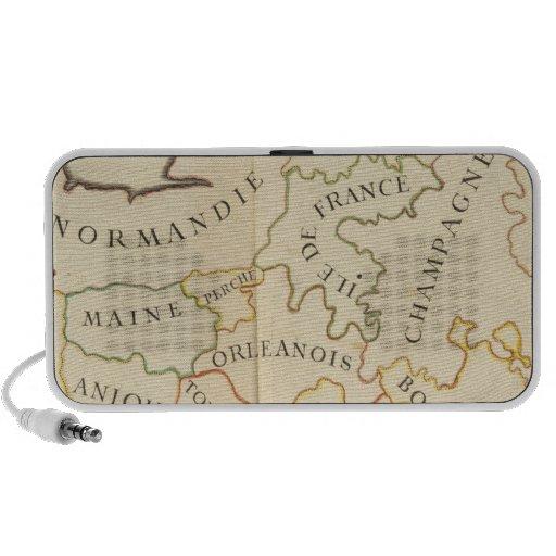 Provinces, France Notebook Speakers