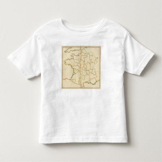 Provinces, France Outline Toddler T-shirt