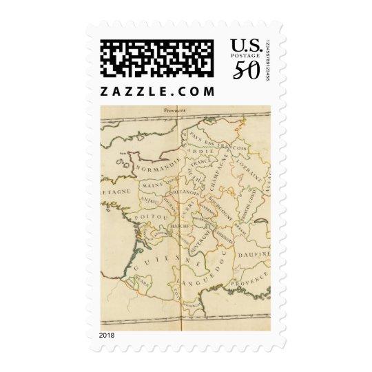 Provinces, France Postage