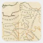 Provinces, France Square Sticker