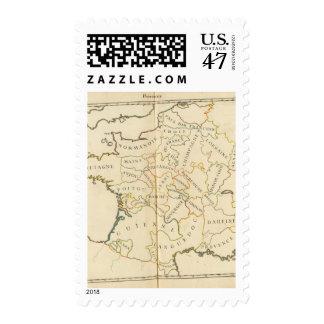 Provinces, France Stamp