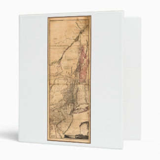 Provinces of New York and New Jersey (1768) 3 Ring Binder