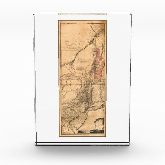Provinces of New York and New Jersey (1768) Acrylic Award