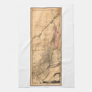 Provinces of New York and New Jersey (1768) Kitchen Towel