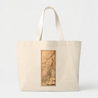 Provinces of New York and New Jersey (1768) Large Tote Bag