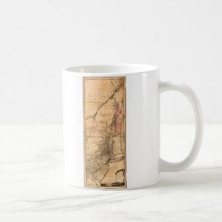 Provinces of New York and New Jersey (1768) Classic White Coffee Mug