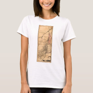 Provinces of New York and New Jersey (1768) T-Shirt