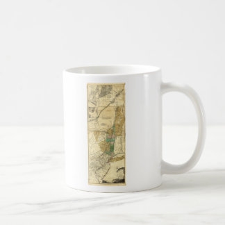 Provinces of New York New Jersey Map (1776) Coffee Mug