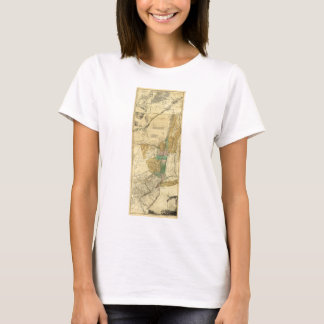 Provinces of New York New Jersey Map (1776) T-Shirt