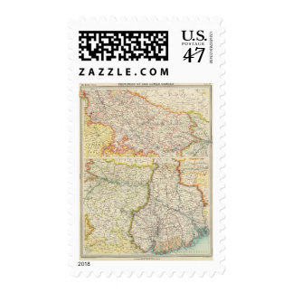 Provinces of the Lower Ganges Postage