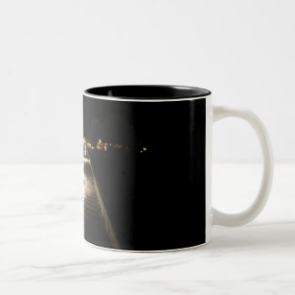 Provincetown After Dark Two-Tone Coffee Mug