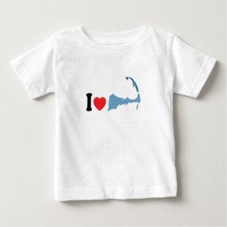 "Provincetown ""amo"" diseño tee shirts"