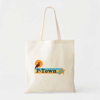 """Provincetown """"Beach"""" Design. Tote Bags"""