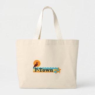"Provincetown ""Beach"" Design. Canvas Bags"